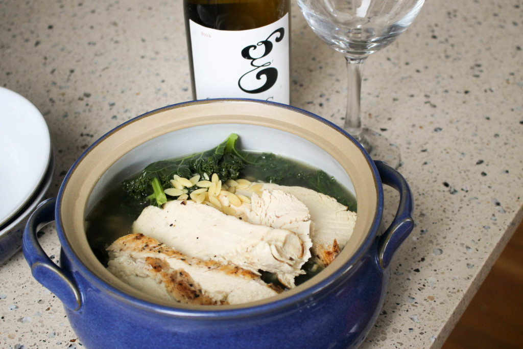 Kale_Chicken_Orzo_Soup