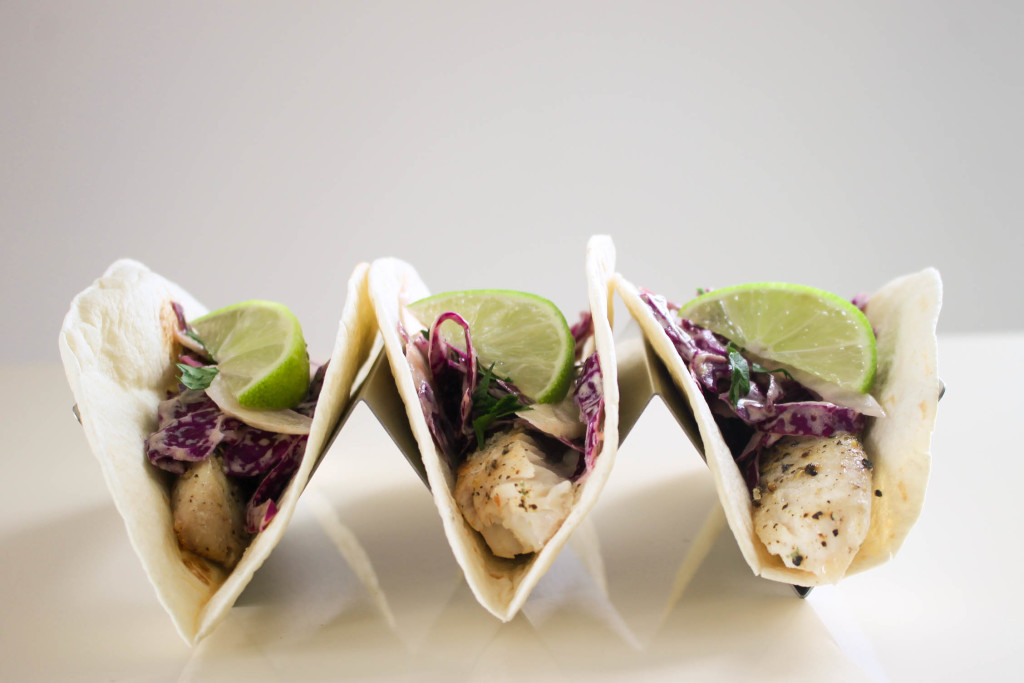 Broiled Tilapia Tacos
