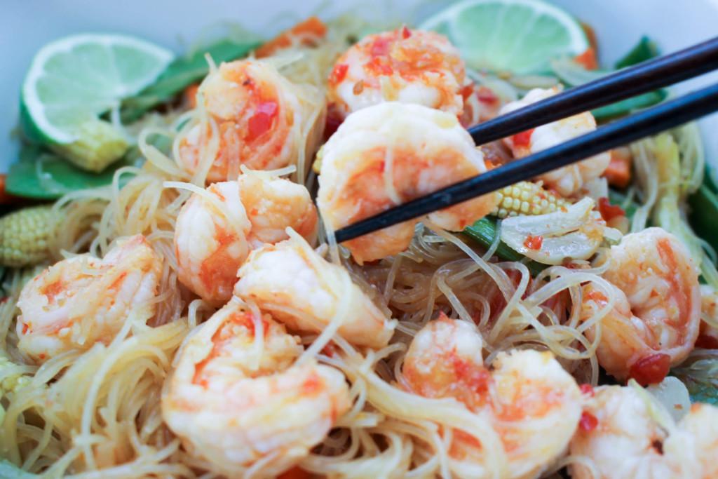 Shrimp Rice Noodles