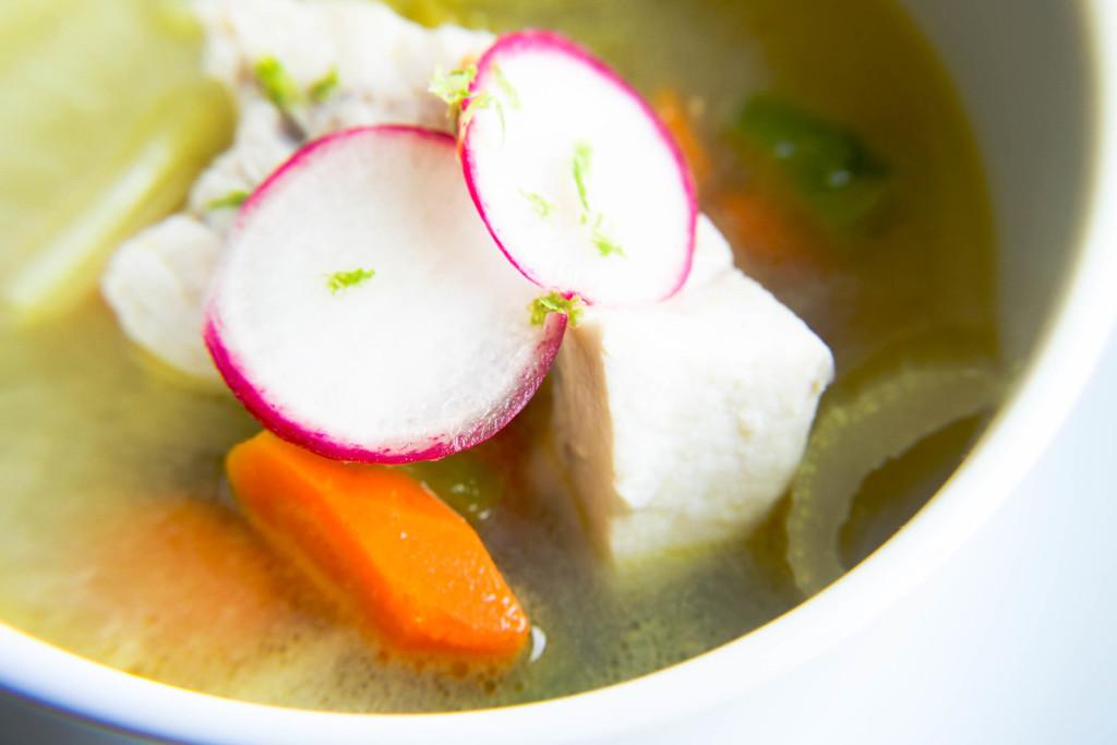 Spicy Swordfish Soup