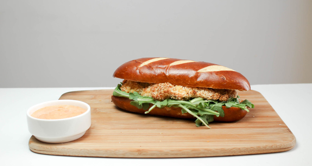 Panko Crusted Chicken Sandwich