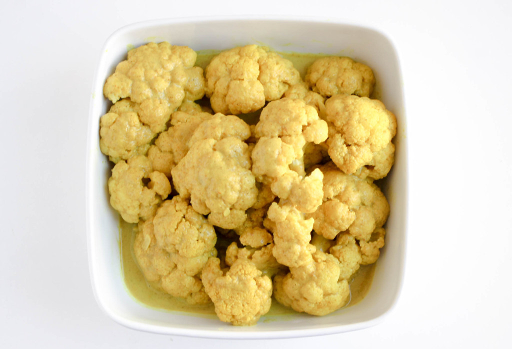 Coconut Curried Cauliflower