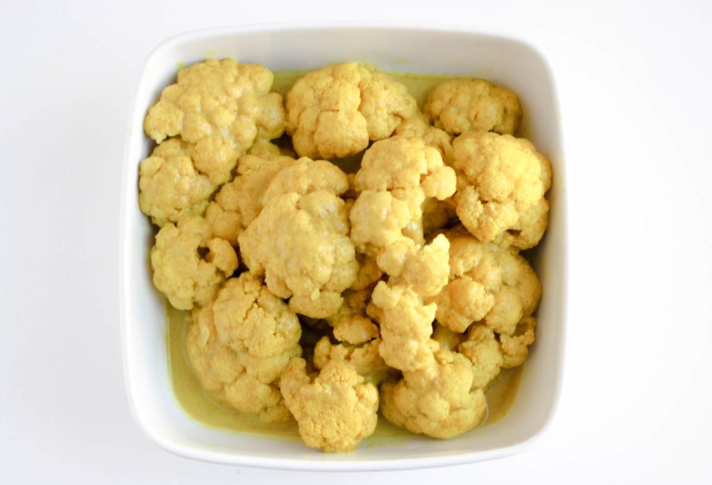 Coconut Curried Cauliflower