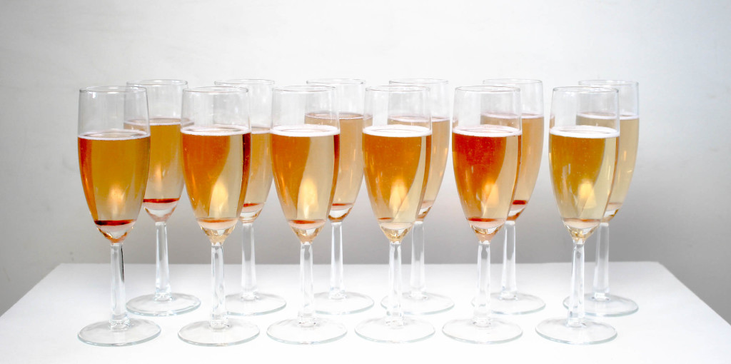 Classic Champagne Cocktail by Diverse Dinners