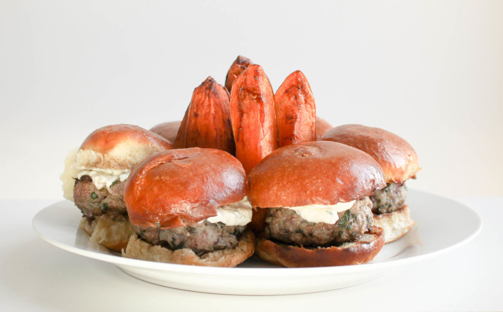 Lamb Sliders by Diverse Dinners