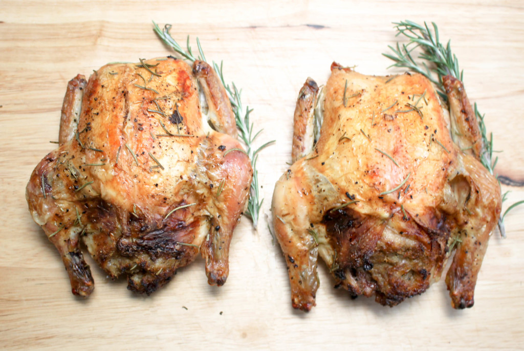 Roasted Cornish Game Hens by Diverse Dinners