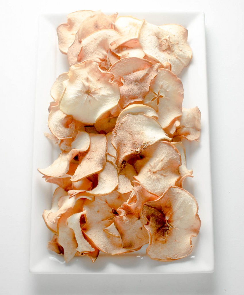 Baked Apple Chips by Diverse Dinners