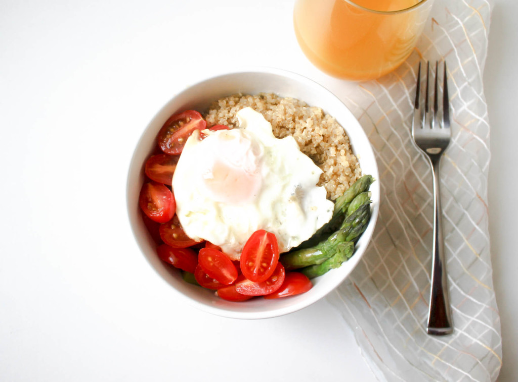 Quinoa Breakfast Bowl by Diverse Dinners