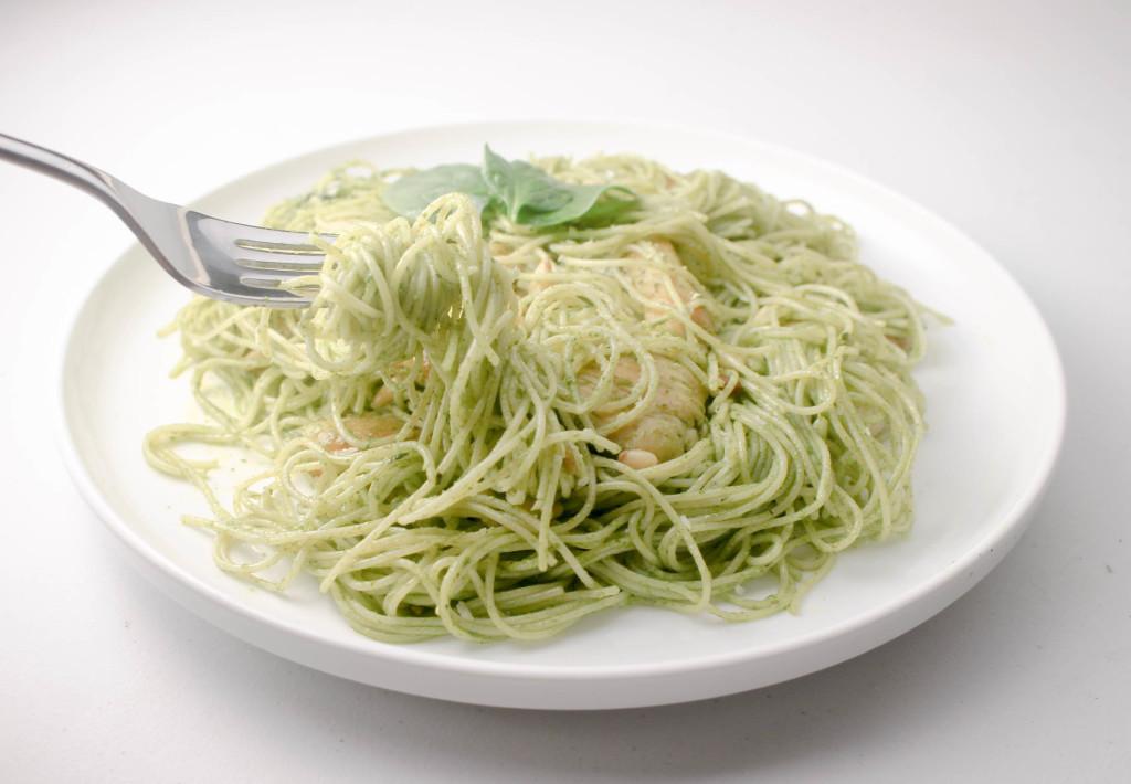 Pesto Chicken Pasta by Diverse Dinners