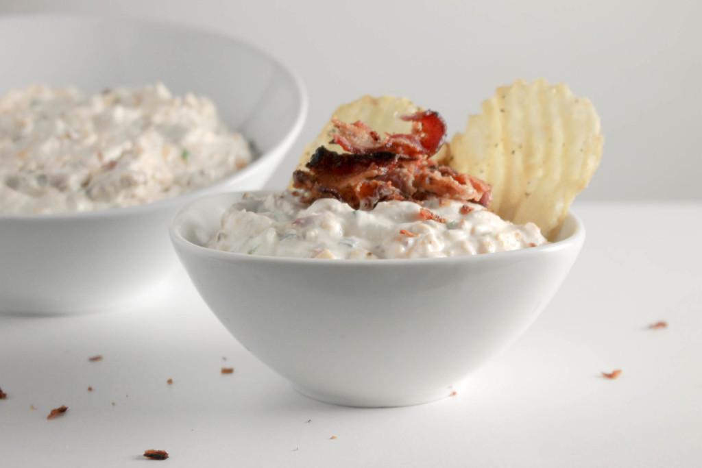 Bacon Cheddar Dip by Diverse Dinners