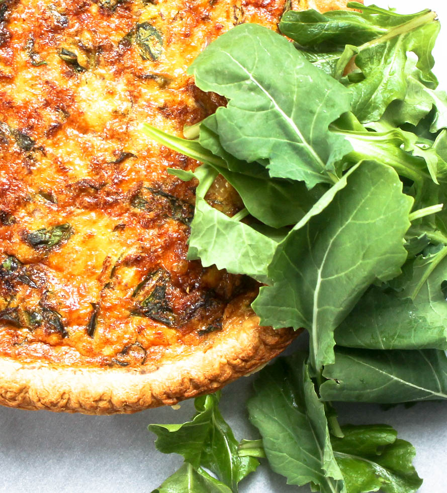 Tuna and Kale Quiche by Diverse Dinners