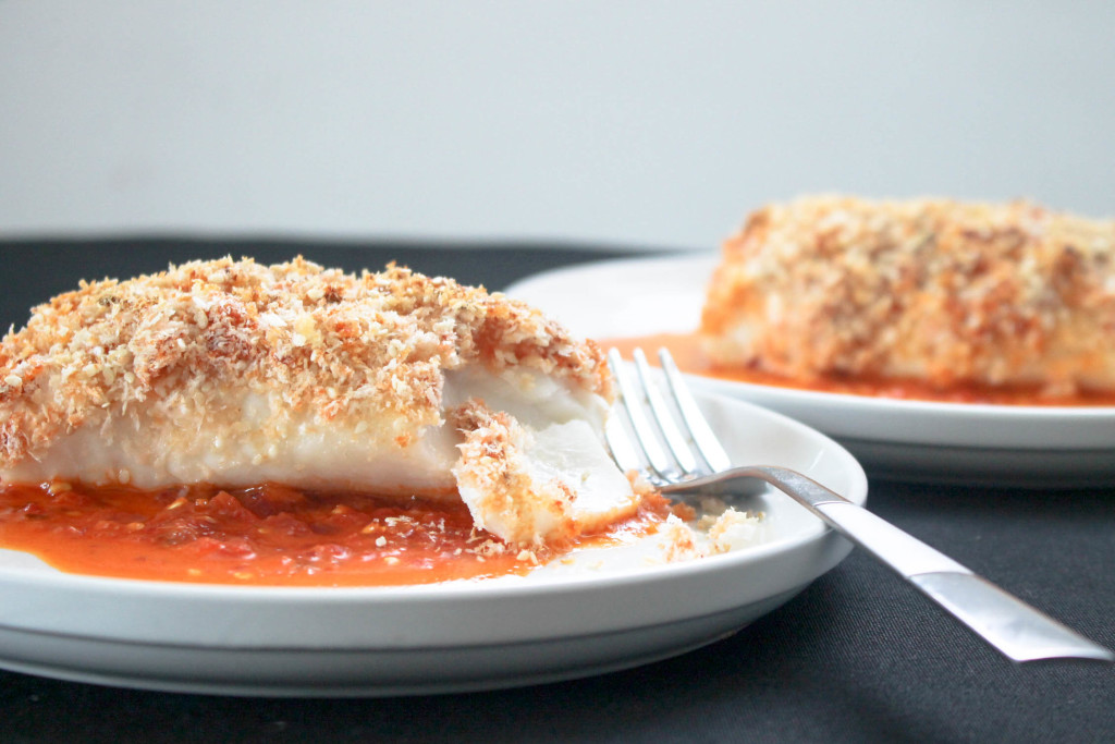 Spicy Crusted Cod by Diverse Dinners