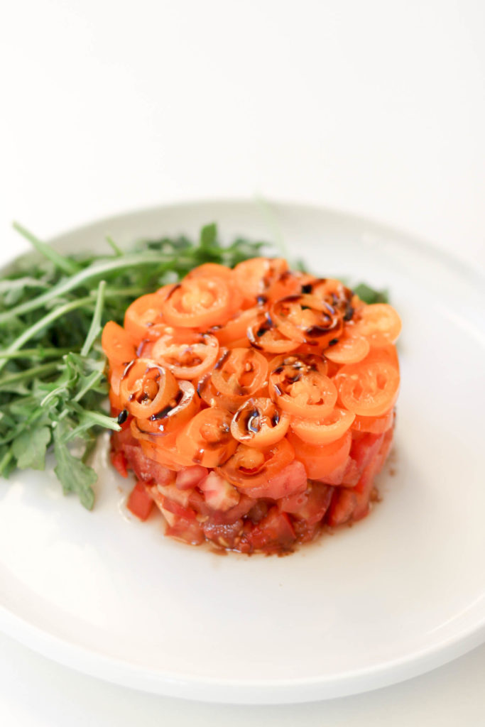 Triple Tomato Salad by Diverse Dinners