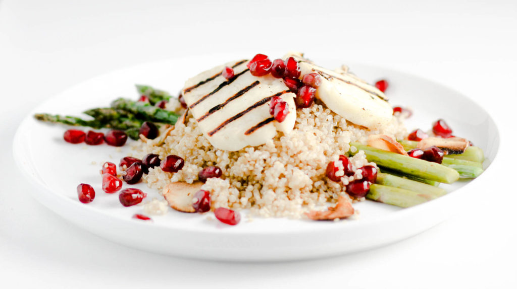 Asparagus Quinoa Salad by Diverse Dinners