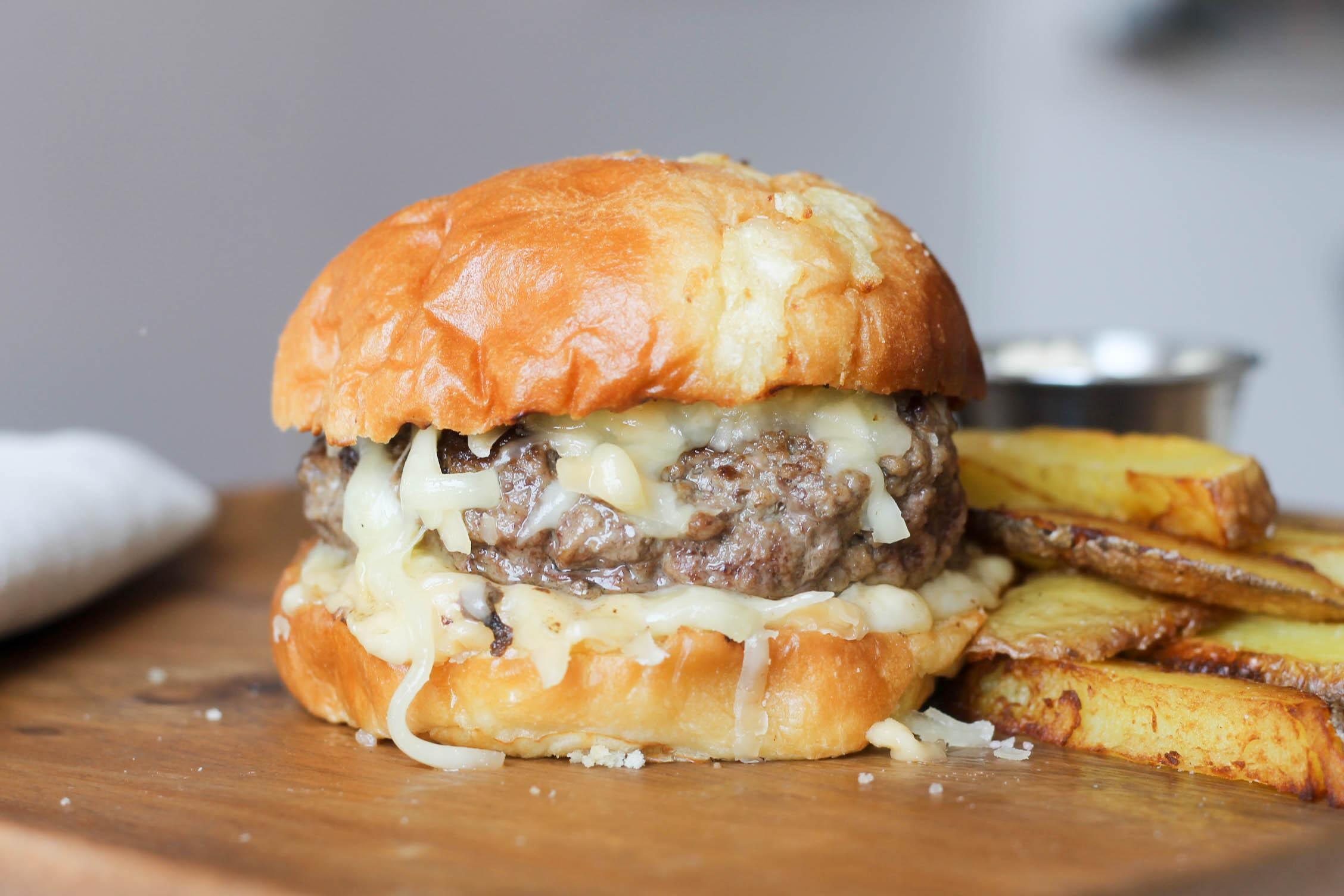 Triple Cheese Burger