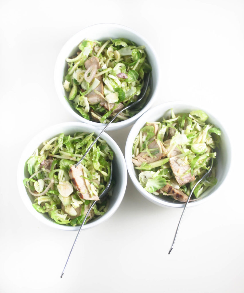 Honey Mustard Pork Summer Salad by Diverse Dinners