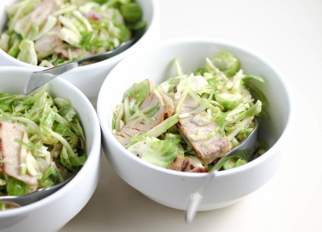 Honey Mustard Pork Summer Salad by Diverse Dinners