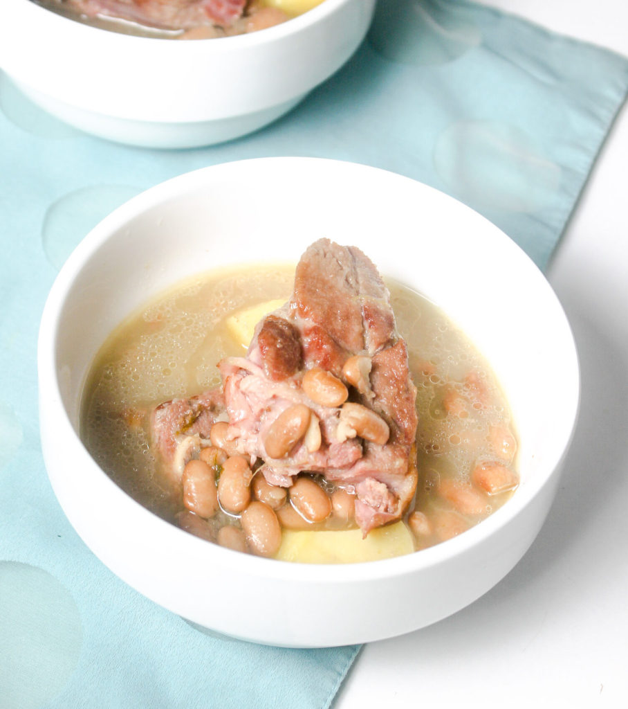 Smoked Turkey Bean Soup by Diverse Dinners