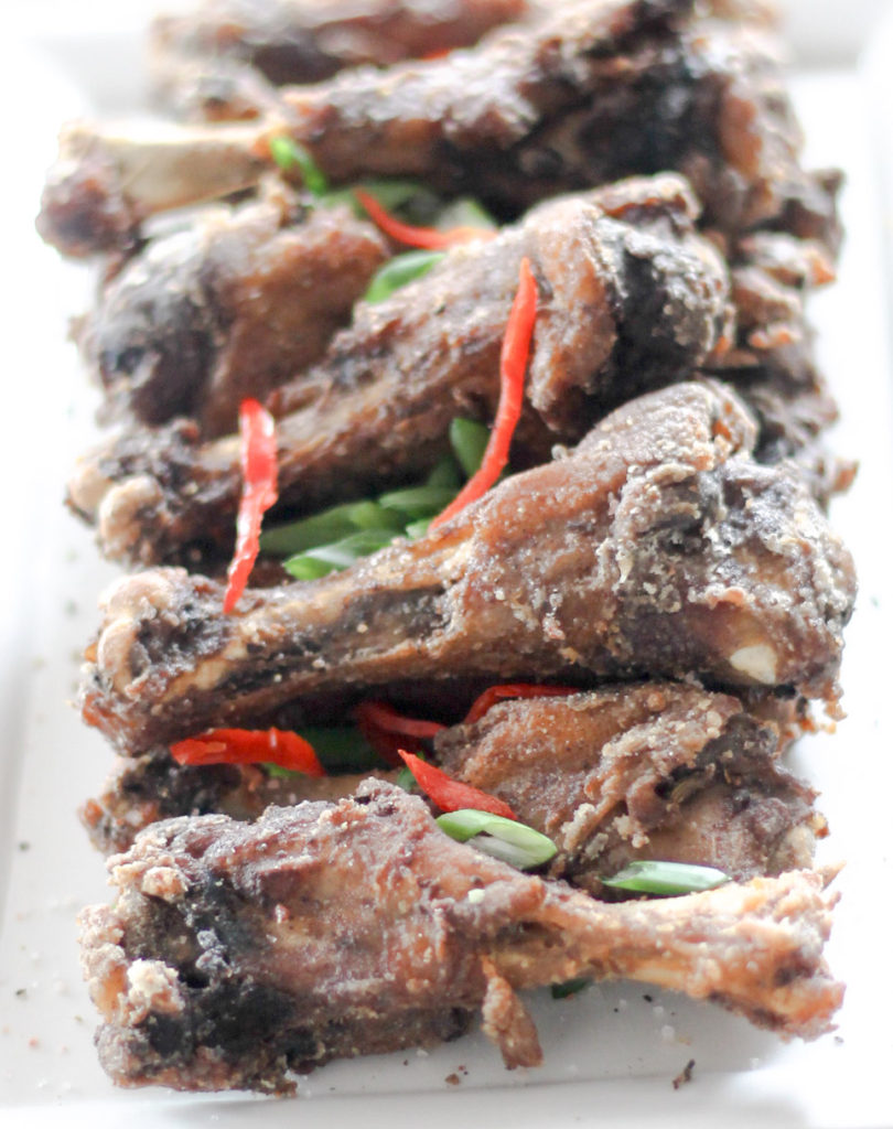 Crispy Salt and Pepper Duck Wings by Diverse Dinners
