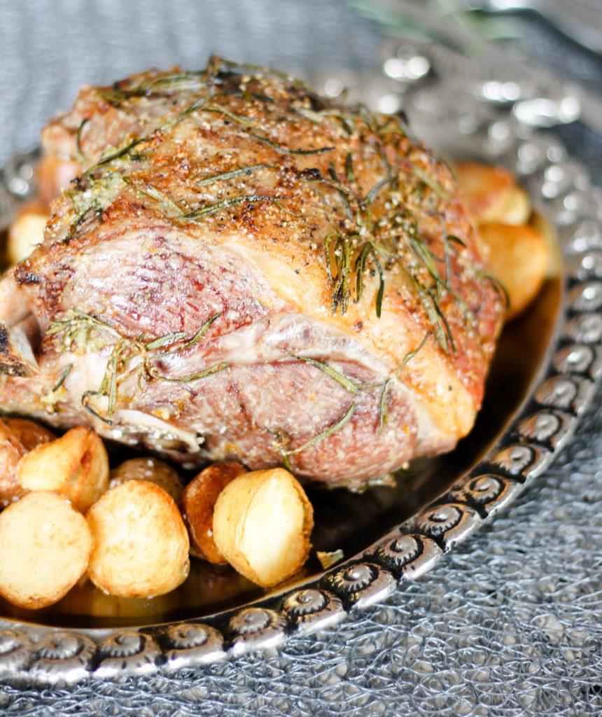 Roast Half Leg of Lamb by Diverse Dinners