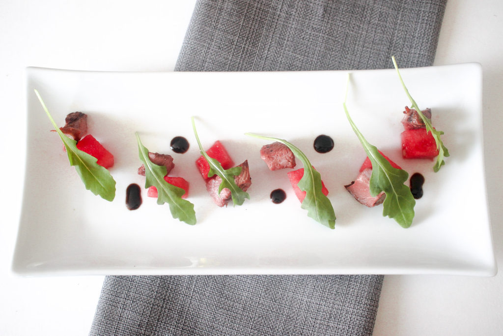 Duck and Watermelon Salad by Diverse Dinners