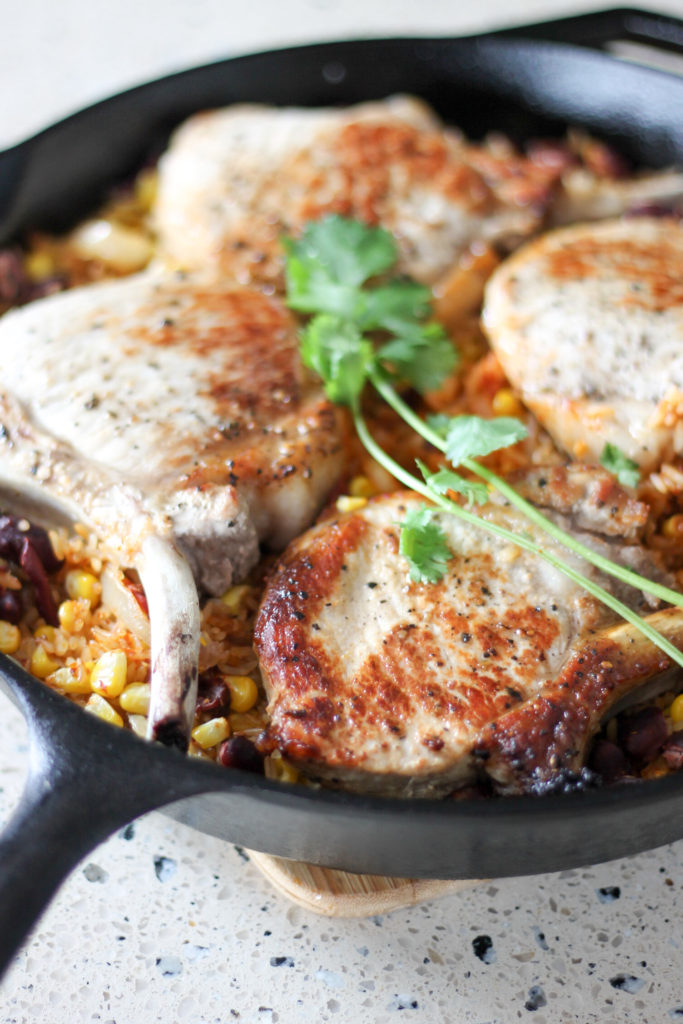 Mexican-Style Pork Chops by Diverse Dinners
