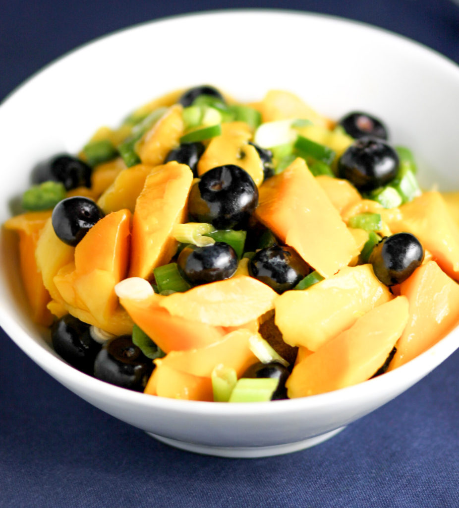 Blueberry Mango Salsa by Diverse Dinners