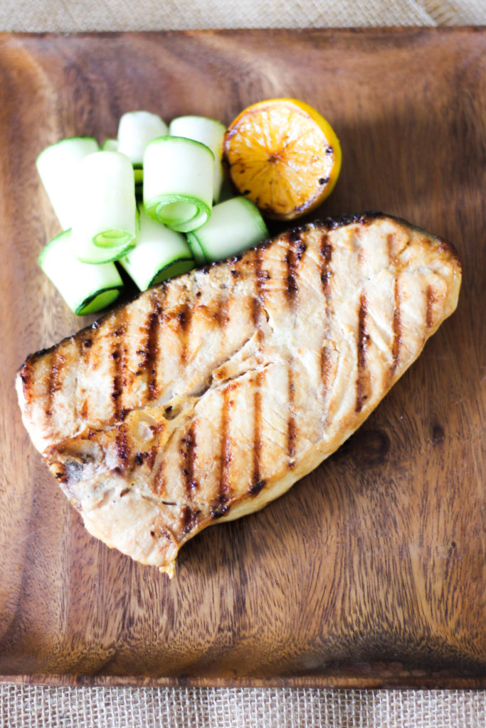 how to cook halibut steaks on the grill