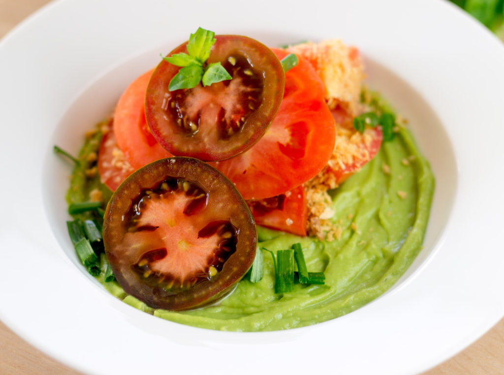 Tomato Avocado Salad by Diverse Dinners
