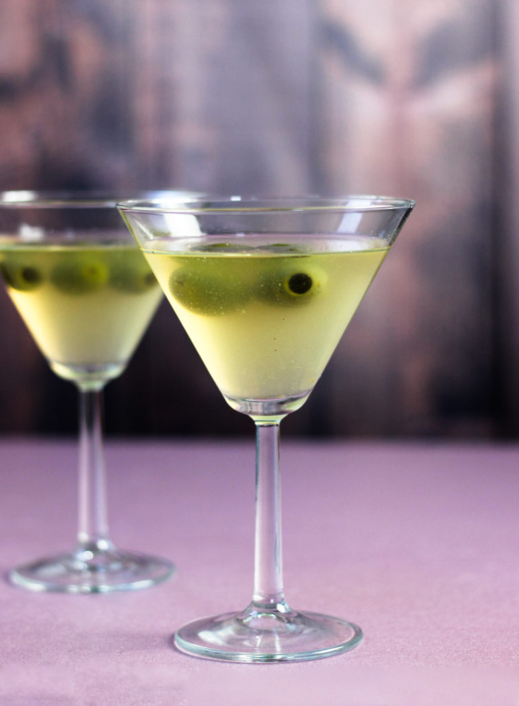 Filthy Dirty Martini by Diverse Dinners