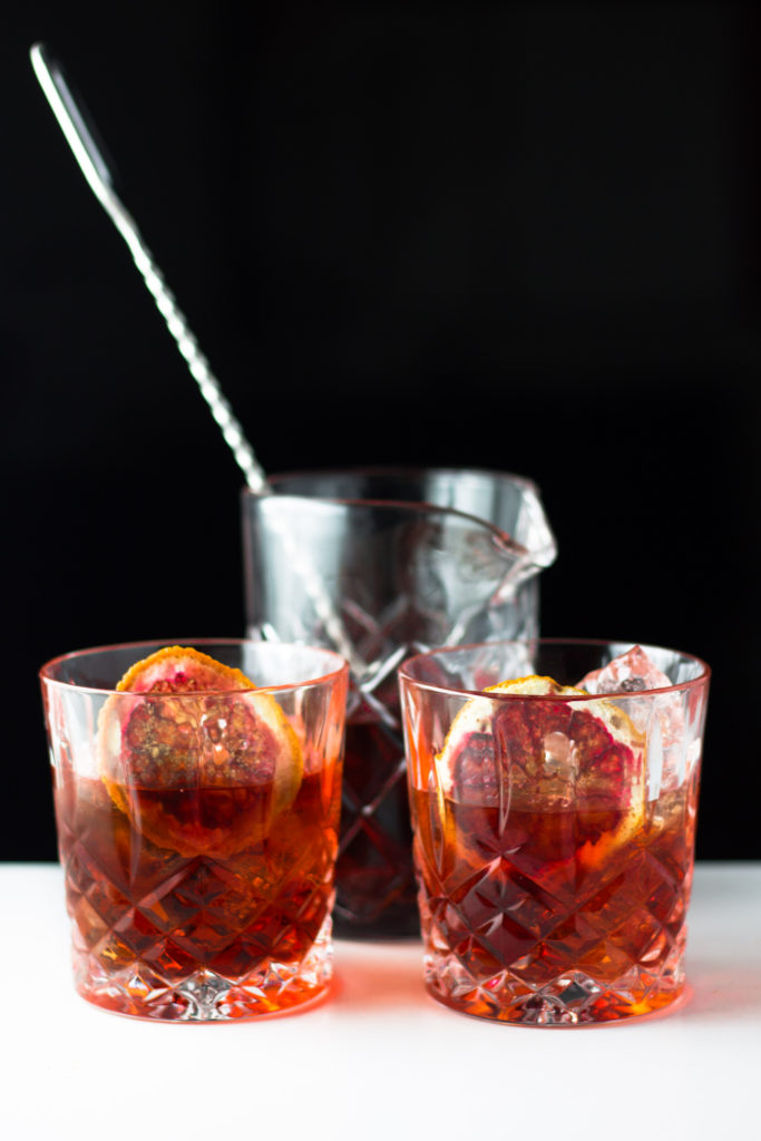 Mezcal Negroni by Diverse Dinners