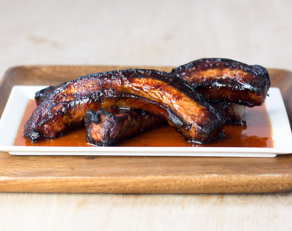 Sweet Spicy Mezcal Pork Belly by Diverse Dinners