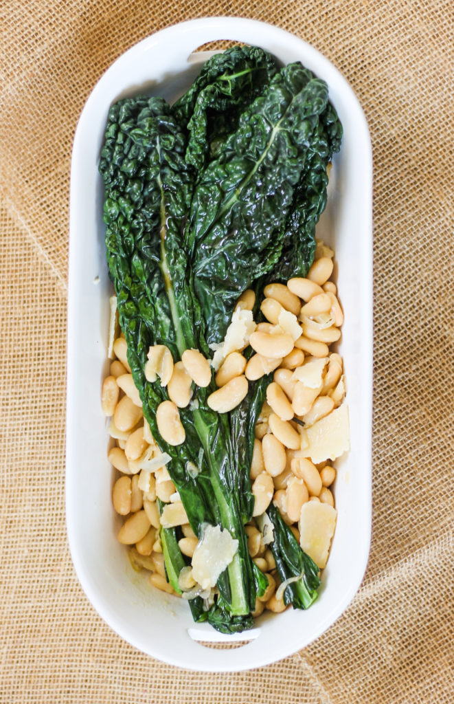 Warm Lacinato Kale and Cannellini Beans by Diverse Dinners