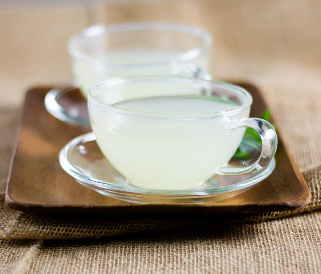 Ginger Lime Mint Tea by Diverse Dinners