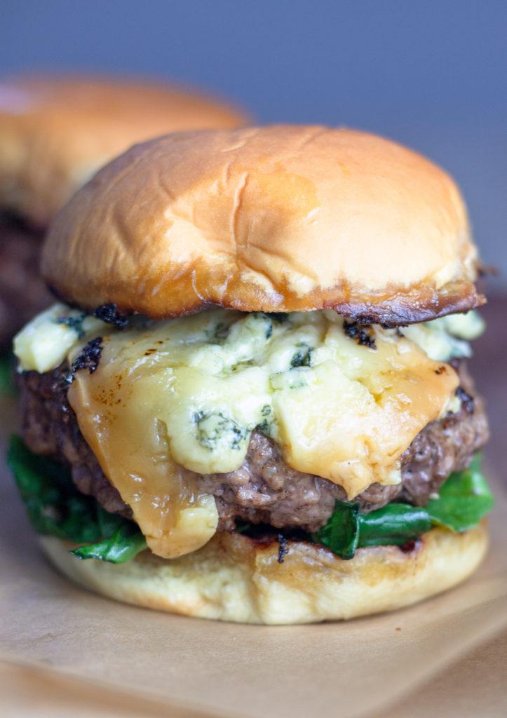 Stilton Burger by Diverse Dinners