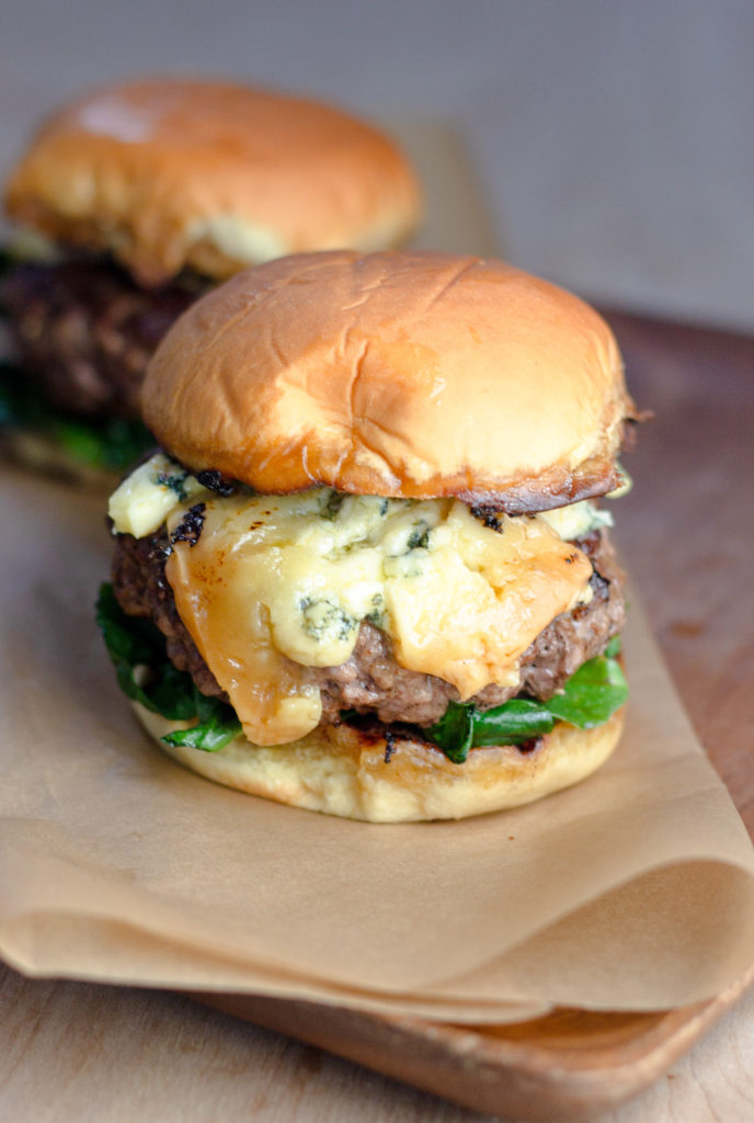Stilton Burger by Diverse Dinners