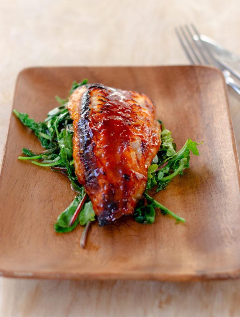 Gochujang Glazed Alaskan Black Cod by Diverse Dinners