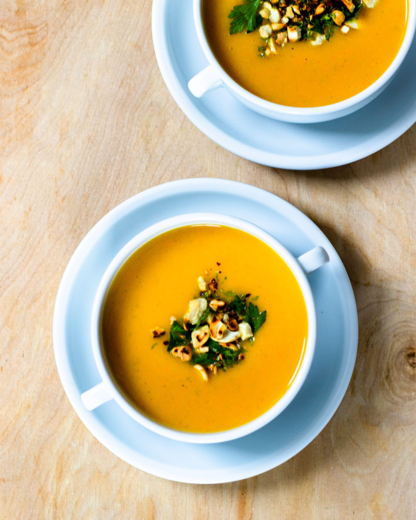 Cashew Butternut Squash Soup by Diverse Dinners