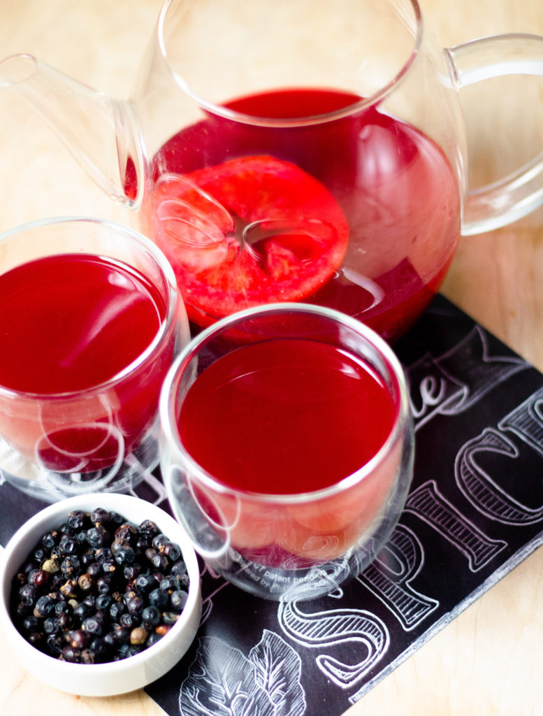 Spiced Cranberry Tea by Diverse Dinners