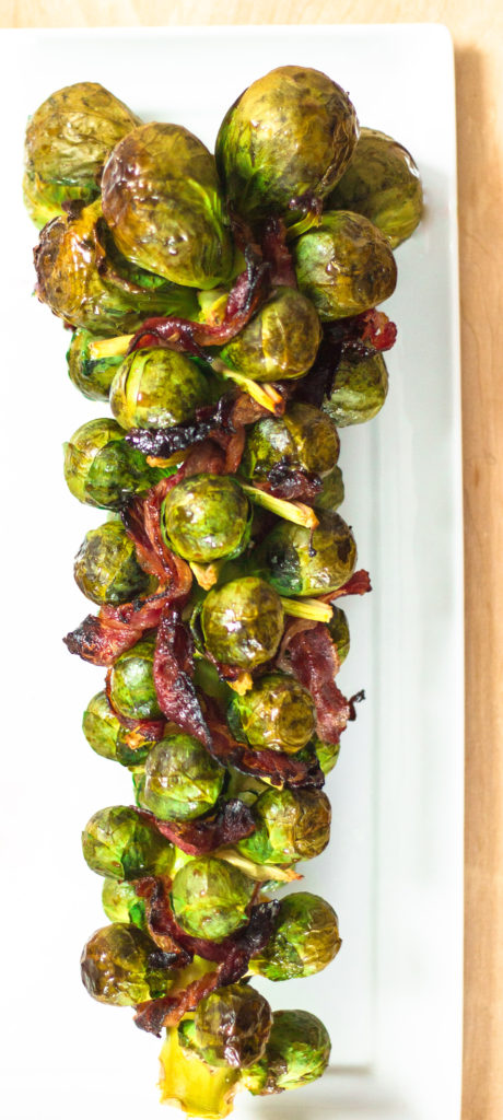 Honey Balsamic Brussels Sprouts by Diverse Dinners