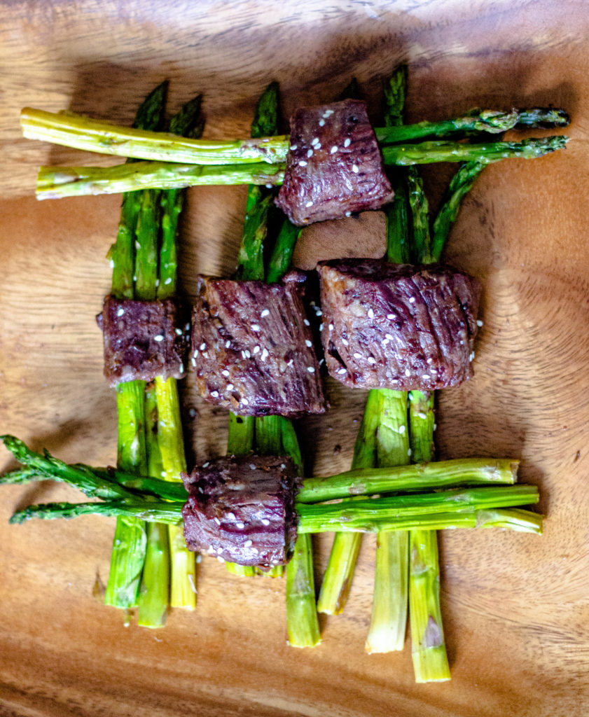 Steak Wrapped Asparagus by Diverse Dinners