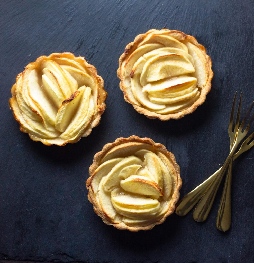 Honeycrisp Apple Tartlets by Diverse Dinners