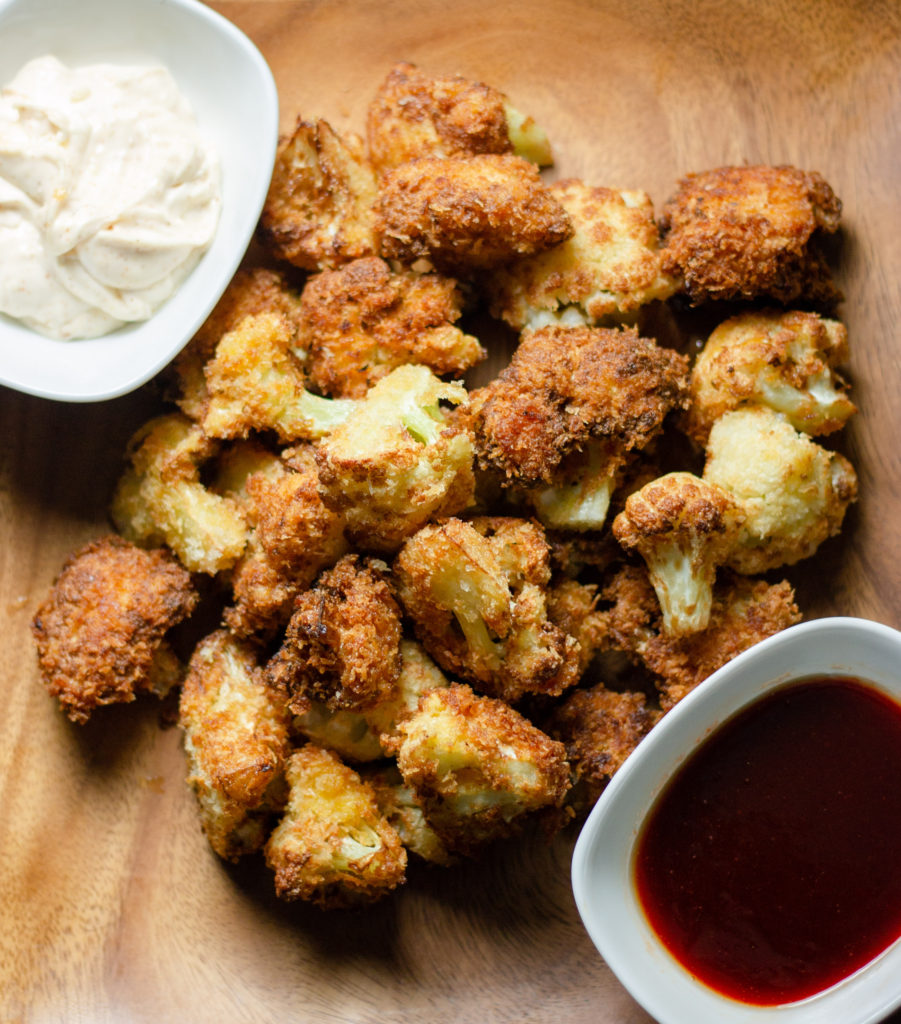 Crispy Fried Cauliflower Bites by Diverse Dinners