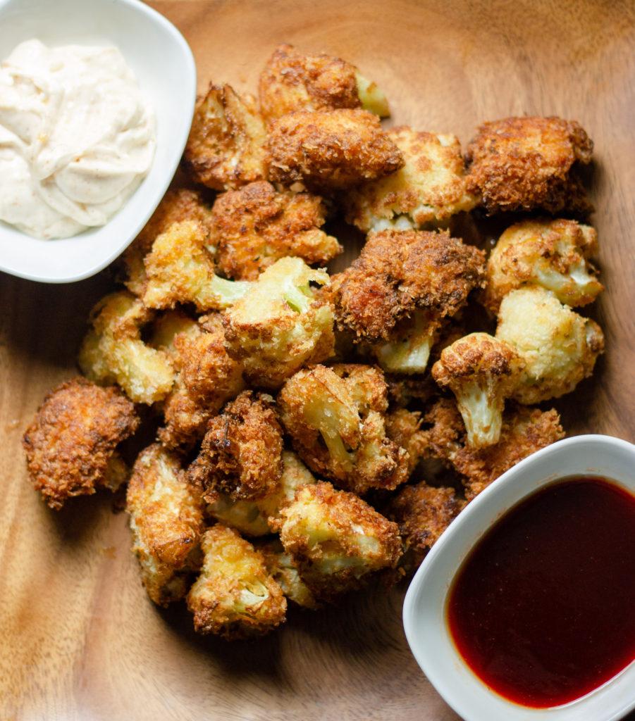 Crispy Fried Cauliflower Bites by Diverse Dinners