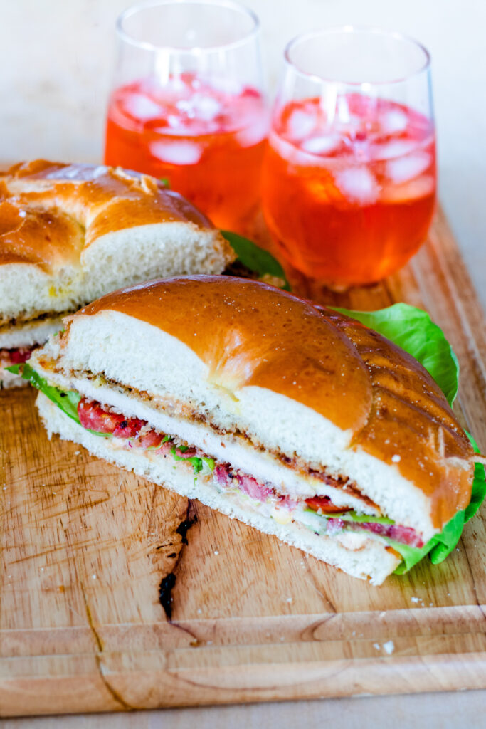 Challah Chicken Sandwich by Diverse Dinners