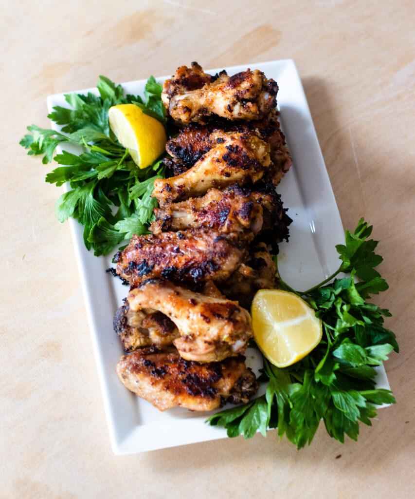 Lemon Pepper Chicken Wings by Diverse Dinners