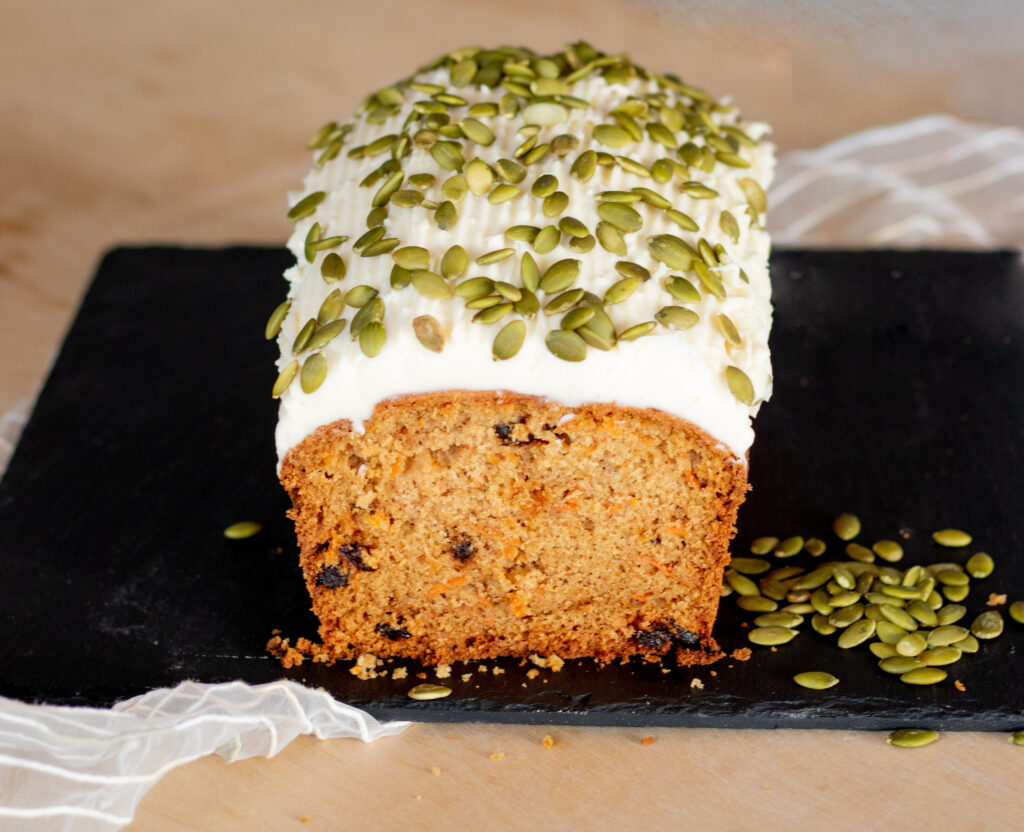 Carrot Cake Loaf by Diverse Dinners