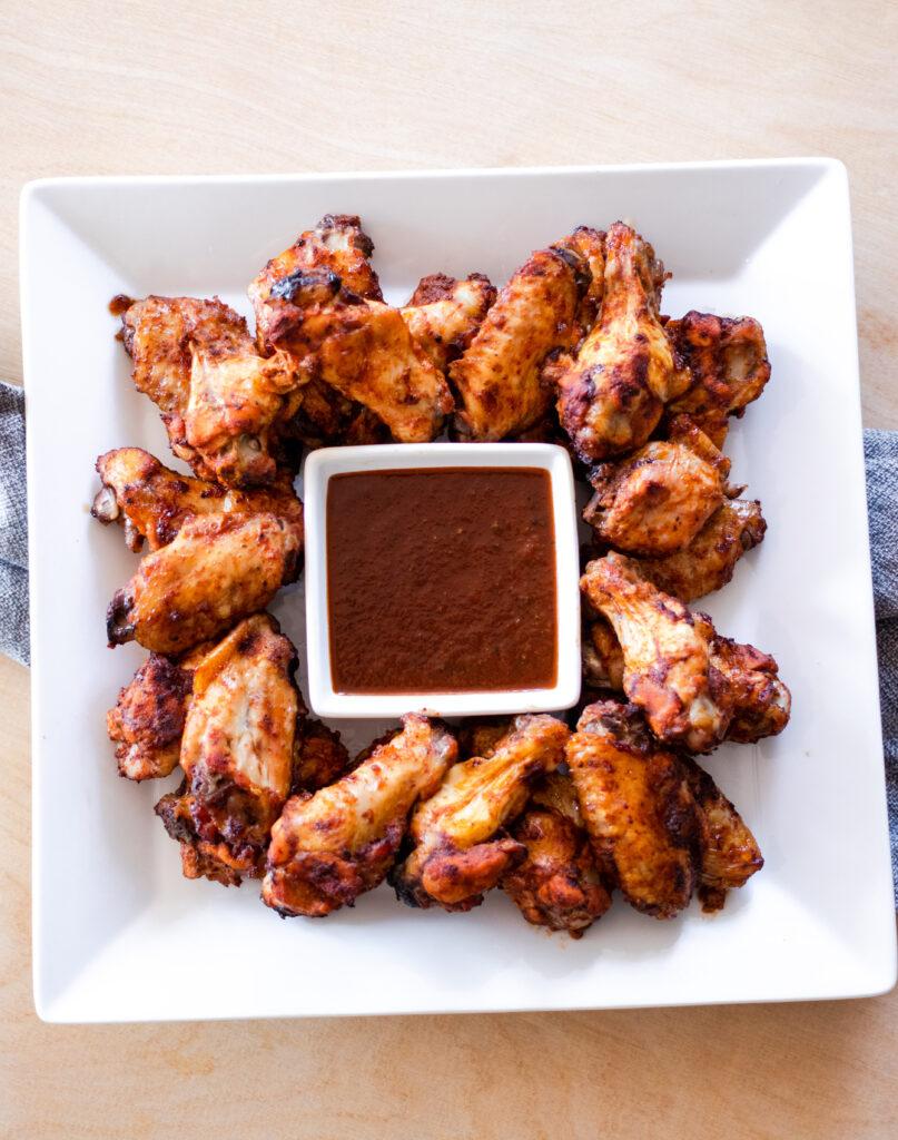 Honey Jerk Chicken Wings by Diverse Dinners