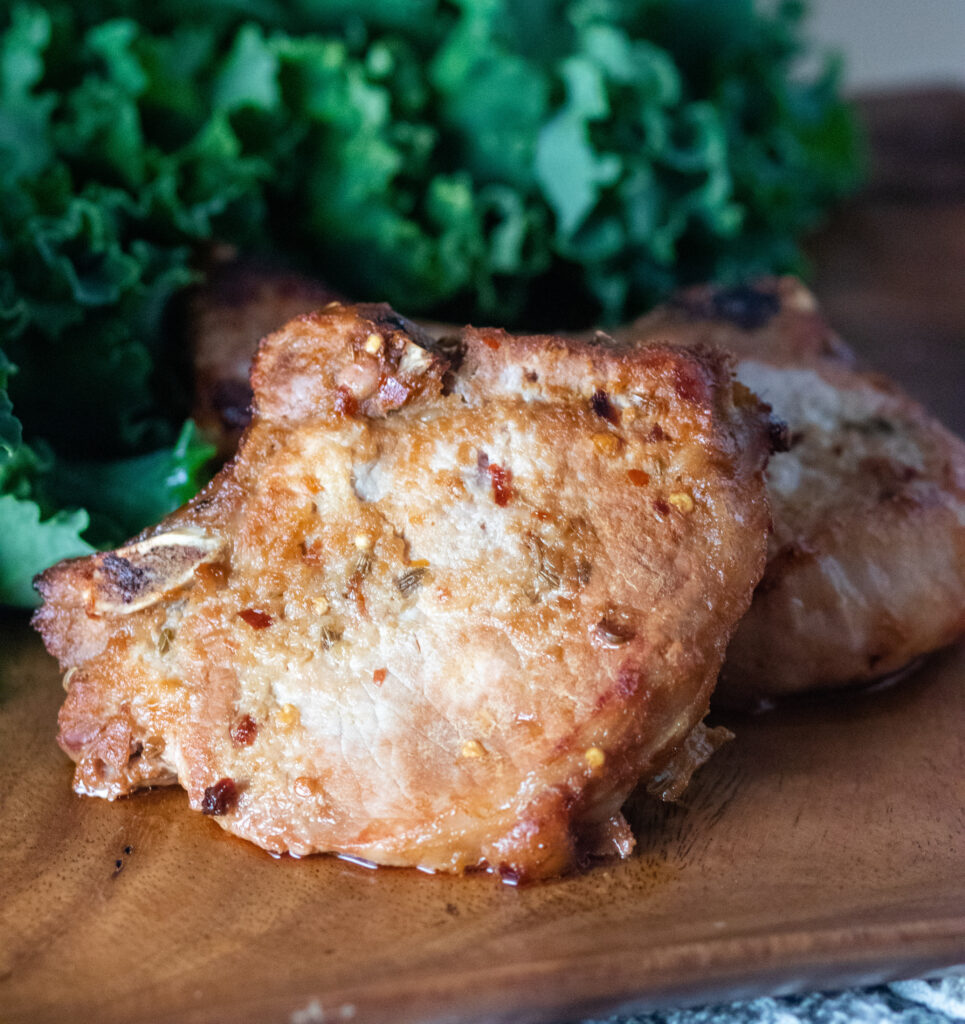 Soy Ginger Pork Chops by Diverse Dinners