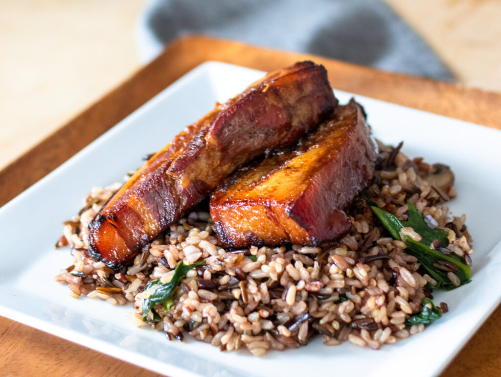 Honey Soy Ginger Pork Belly by Diverse Dinners